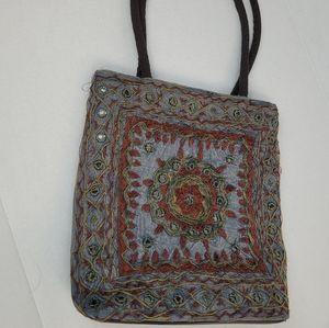 Boho Embroidered Bag